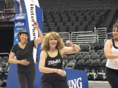 Zumba Contra Costa at LA Clippers