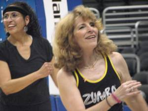 Zumba Contra Costa - Clippers game