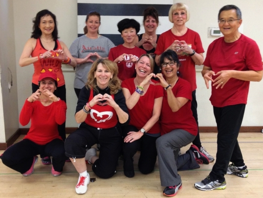 Wear Red Day Zumba Contra Costa