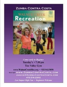 Zumba Contra Costa, Walnut Creek